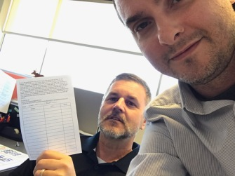 Scott and Joe sending Diminishing return on a journey to airport waiting areas